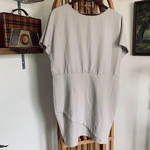 ASOS Kimono Sleeve Dress with Pencil Skirt